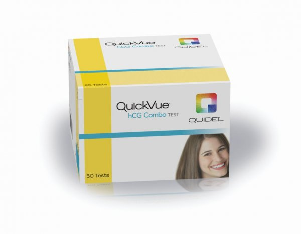 QuickVue One-Step hCG Combo Test