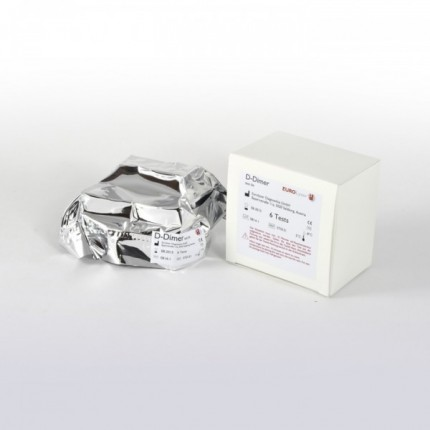 D-DIMER TEST KIT, 6 TESTS