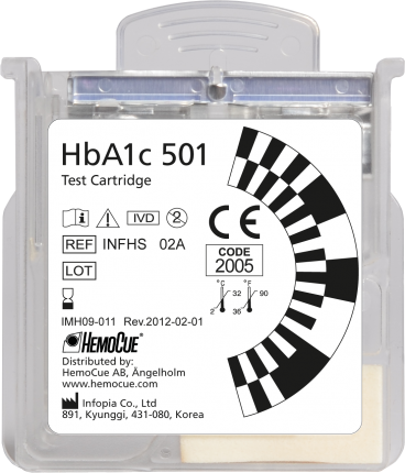 HemoCue® HbA1c 501 Test Cartridge