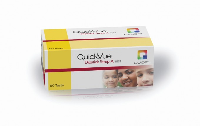 QuickVue Dipstick Strep A Test (25T)