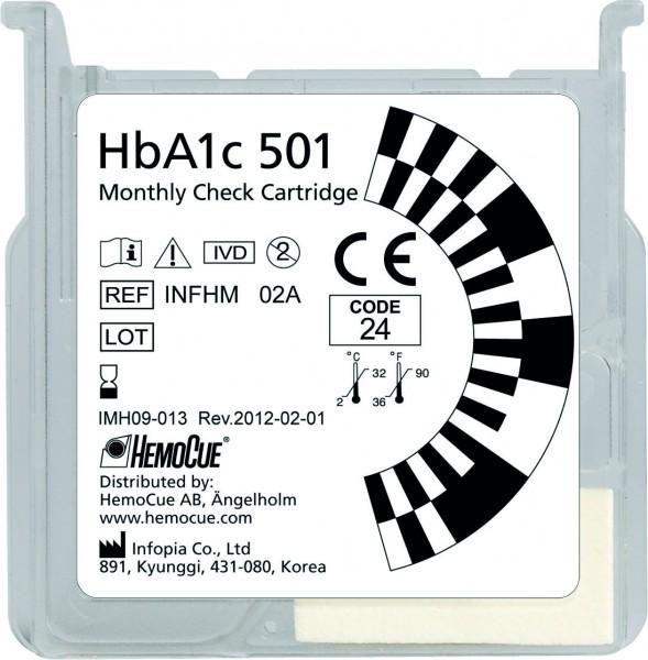 HemoCue® HbA1c 501 Monthly Check Cart