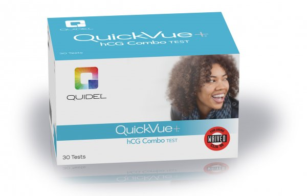 QuickVue+One-Step hCG Combo Test